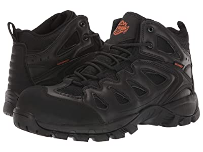 Harley-Davidson Woodridge Composite Toe (Black) Men