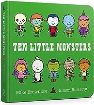 Ten Little Monsters Board Book