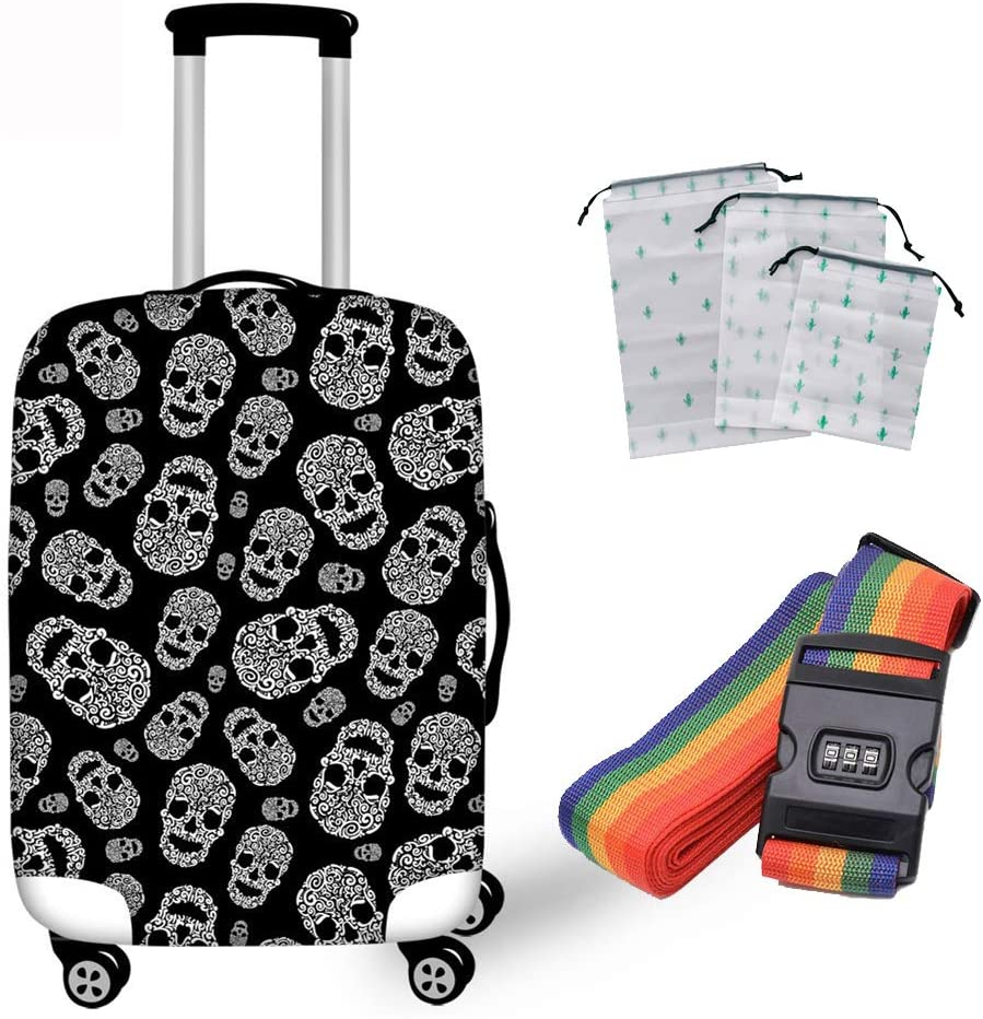 Q-YR Shockproof Suitcase Cover Elastic Breathable Max 63% OFF Tucson Mall Sle Protective