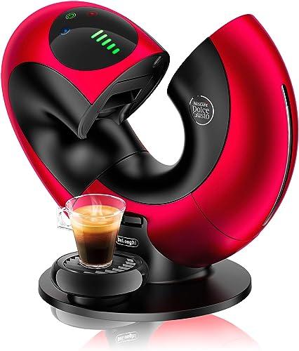 DeLonghi - Cafetière - 1500 W - Brossée - Nescafé Dolce Gusto Eclipse EDG 737, B Machine à café Rot Metal