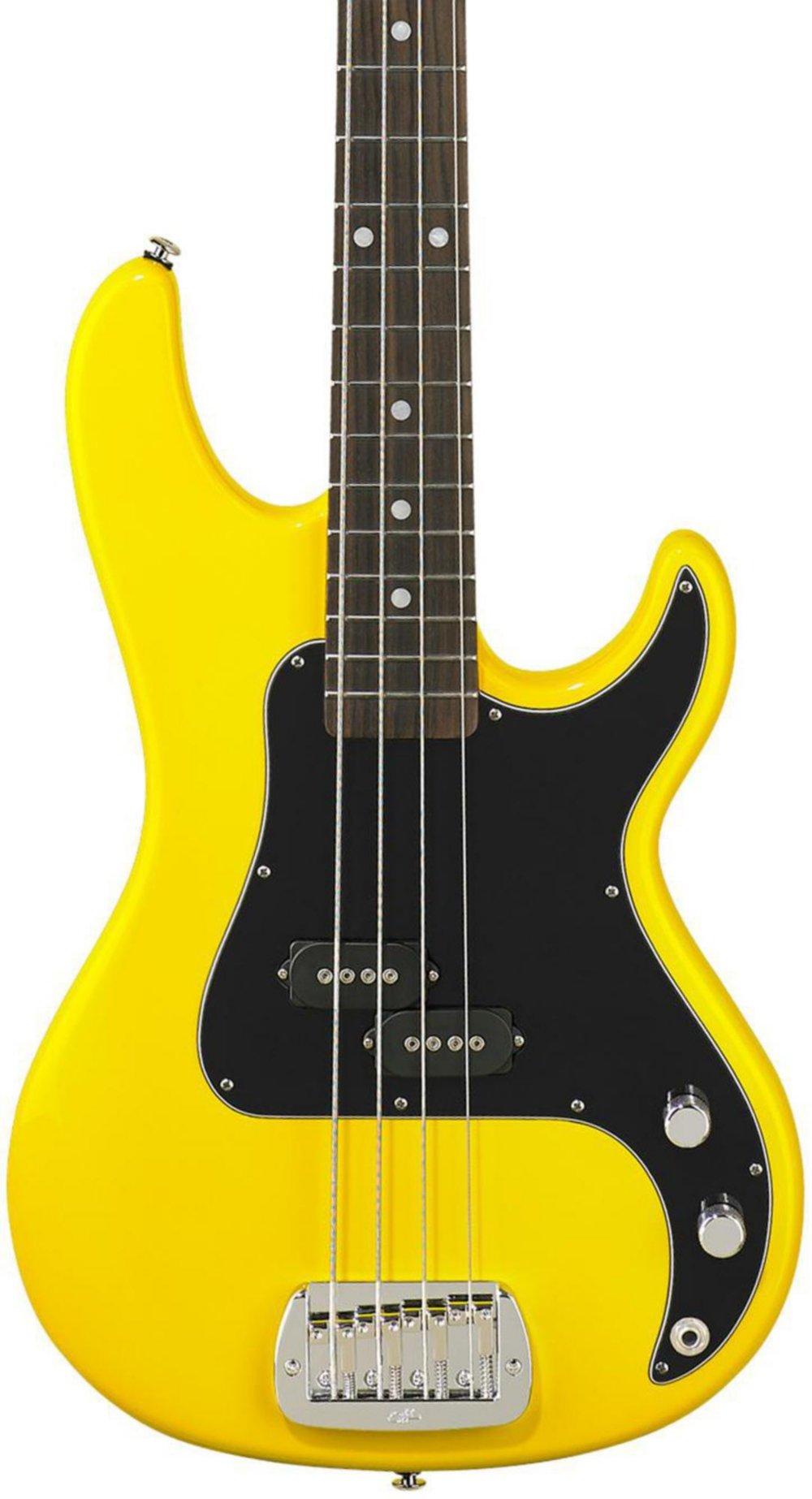 Cheap G&L SB-1 Electric Bass Guitar Yellow Fever Black Friday & Cyber Monday 2019