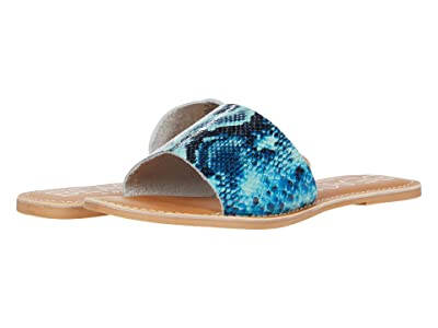 Matisse Cabana (Blue Snake Leather) Women