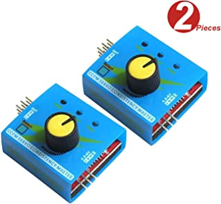 WINGONEER® RC Servo Tester Multi 3CH ECS Consistency Speed Controler Power Channels CCPM Meter with Reverse - 2pcs