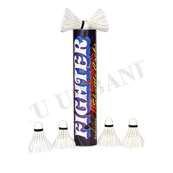 Mutu Urbanpace Fighter Badminton Shuttlecock standered Size (Pack of 10)
