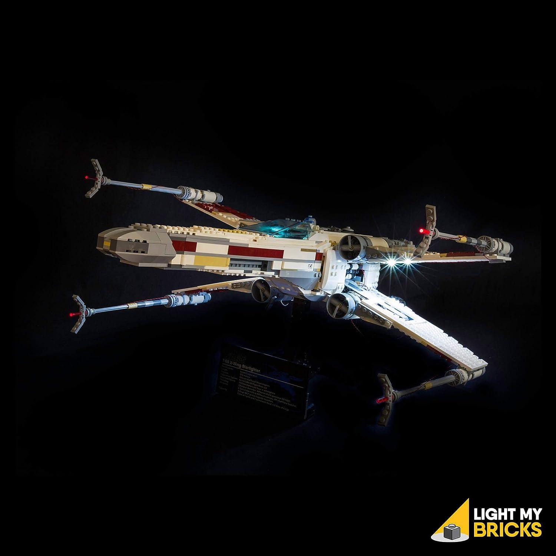 Light My Bricks 'Star Wars UCS Red Five XWing' LED Lighting Kit for LEGO Set 10240