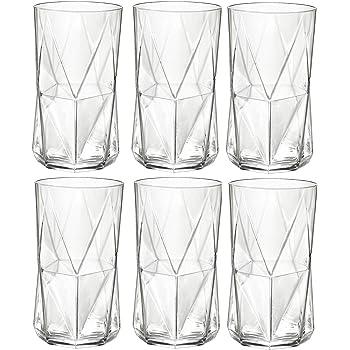 480ml Bormioli Rocco Cassiopea Tumbler Glasses - Set of 6 by Bormioli Rocco 16.25oz