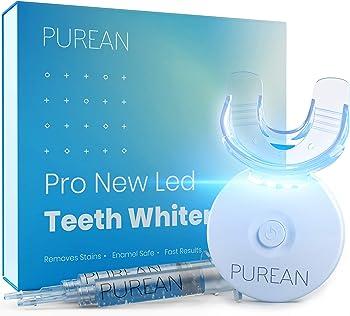 Purean Teeth Whitening Kit with LED Light