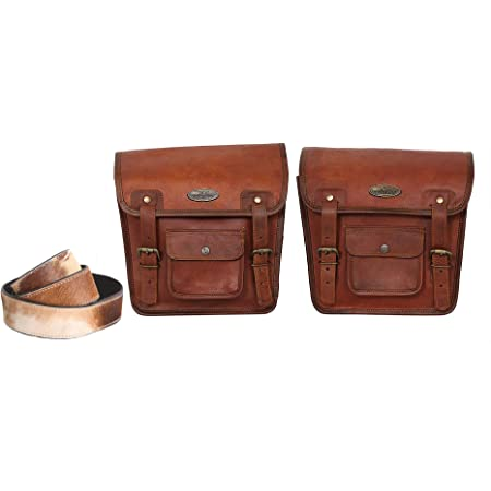 Motorrad Seitentasche Braunes Leder Seitentasche Satteltaschen Sattel Packtaschen 2 Taschen Motorrad Fahrrad 2 Motorcycle Side Pouch Brown Leather Side Pouch Saddlebags Saddle Panniers 2 Bag Schuhe Handtaschen