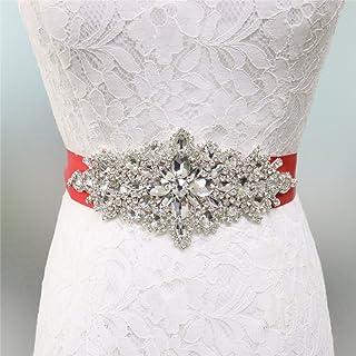 Boutique en ligne f15d3 dd332 Amazon.es: Cinturon Para Vestido - Rojo