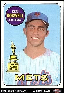 ken boswell baseball card