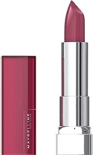 Maybelline Color Sensational Lipstick, Lip Makeup, Cream Finish, Hydrating Lipstick, Nude, Pink, Red, Plum Lip Color, Rose Embrace, 0.15 oz.