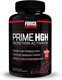 Prime HGH Secretion Activator Supplement for Men with L-Arginine and L-Glutamine to Trigger HGH Production, Boost Workout ...