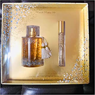 Tahitian Vanilla by Tru Fragrance Gift Set Eau de parfum and purse spray boxed