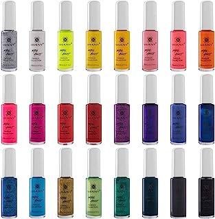 SHANY 24-Pack Nail Art Set, 24 Famous Colors Nail art Polish, Nail Art Decoration 2.20-Pounds