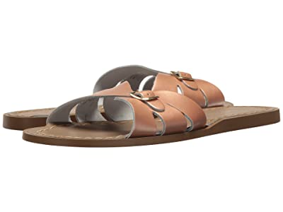 Salt Water Sandal by Hoy Shoes Classic Slide (Big Kid/Adult) (Rose Gold) Girls Shoes