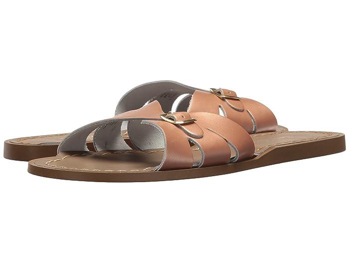 Salt Water Sandal by Hoy Shoes  Classic Slide (Big Kid/Adult) (Rose Gold) Girls Shoes