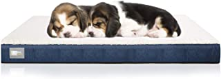 BedStory Memory Foam Dog Bed, Orthopedic Dog Beds for Small Medium Large Pets, Pet Beds with Removable Washable Cover, Ultra Plush Durable Top and Non-Slip Bottom