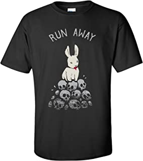 UGP Campus Apparel Run Away Basic Cotton T-Shirt