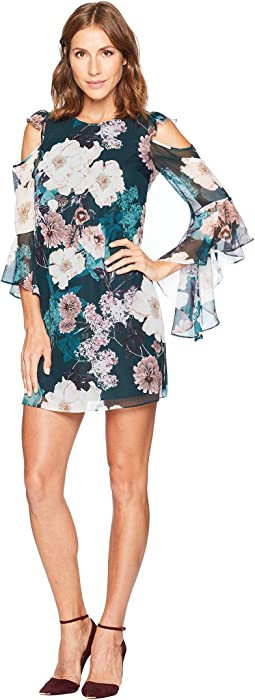Lana Cold Shoulder Twilight Garden Dress