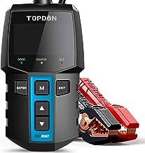 AE310 Digital LCD Backlight Battery Tester,Automotive Load Battery Tester for Car Boat Motorcycle Truck 12v Lead Acid Batteries