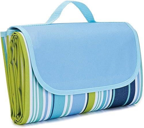Waterproof Foldable Outdoor Camping Mat Widen Picnic Mat Plaid Beach Blanket Baby Multiplayer Tourist Mat 145x180cm, ...