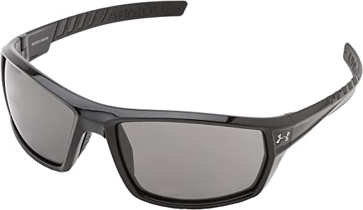 Shiny Black Frame w/ Black Rubber/Gray Lens