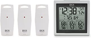BIOS Indoor/Outdoor Thermometer with 3 Sensors
