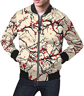 Men's Classic Jacket Short Bomber Jacket Coat