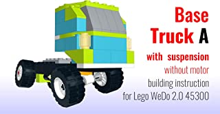 Base Truck A with suspension without motor building instruction for Lego WeDo 2.0 (instructions Book 1)