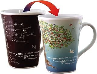Color Changing Mug - Life Story - Large 16 Ounce - Porcelain