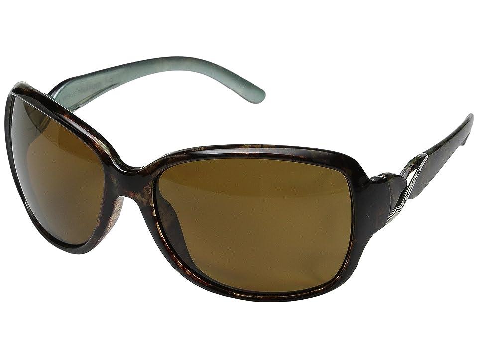 1960ef23fd SunCloud Polarized Optics Weave (Tortoise Backpaint Frame Brown Polarized  Polycarbonate Lenses) Fashion Sunglasses