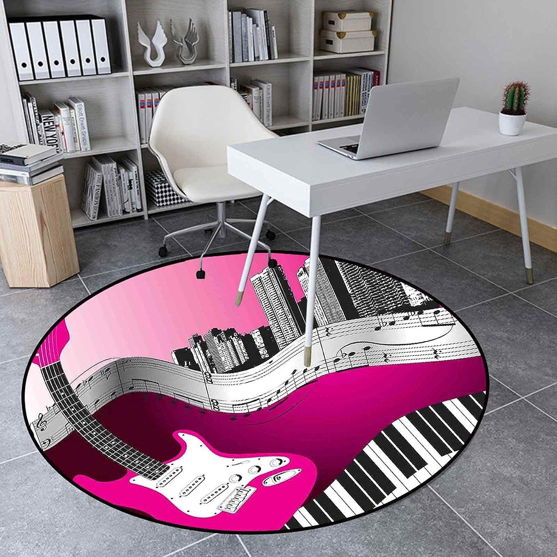 Round Rug for Bedroom Quality inspection 2.95 Living Floor Mat Ft Carpet In stock