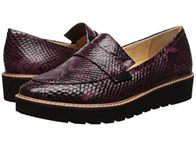 Naturalizer Adiline (Burgundy Snake Print Leather) Women