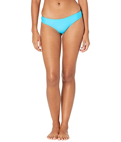Volcom Simply Solid Cheeky Bottoms (Ocean) Women