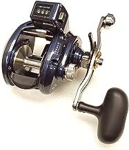 Daiwa Lexa-LC 5.5:1 Line Counter Right Hand Baitcast Fishing Reel w/ Power Handle - LEXA-LC400PWR-P