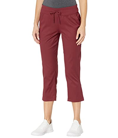 The North Face Aphrodite Motion Capris (Barolo Red) Women