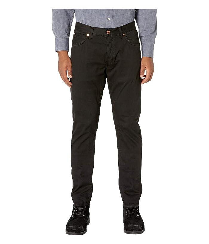 Billy Reid Garment-Dyed Slim Jeans in Black (Black) Men's Jeans