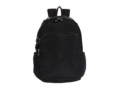 Kipling Delia Backpack (Black Noir) Backpack Bags