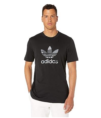 adidas Originals Camo Infill Tee (Black) Men