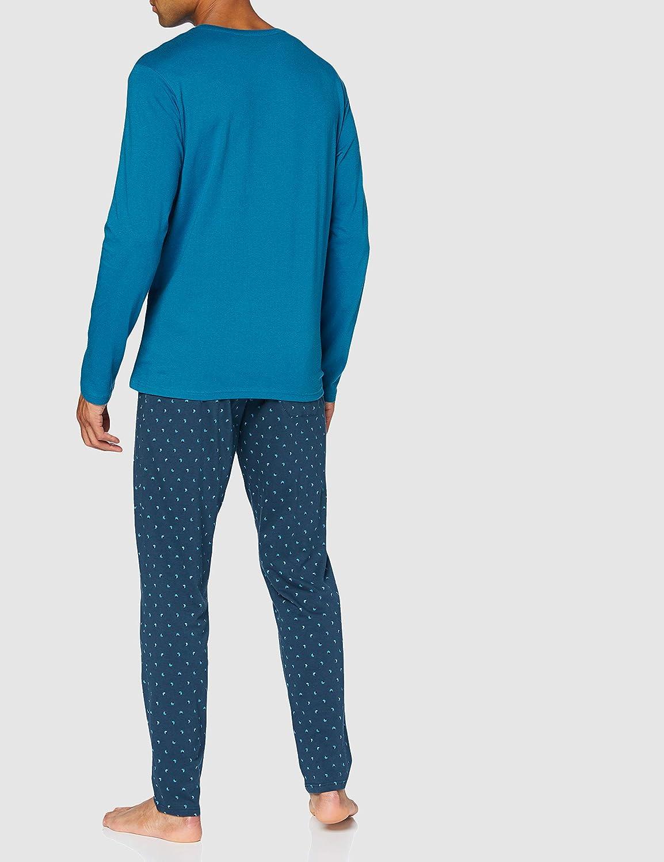 Schiesser Herren Schlafanzug Lang Pyjamaset