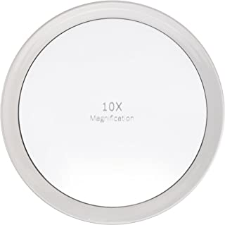 Miss Sweet 10X Magnification Mirror with Suction Cup (A 10X 7.7inch)