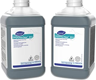 Diversey Suma 100839776 Pan-Clean General Purpose Pot and Pan Detergent, D1.5, 2 x 84.5 oz./2.5 L (Pack of 2)
