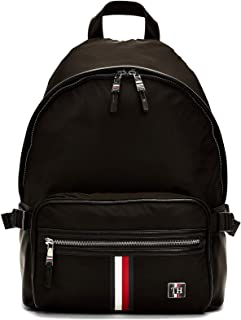 Tommy Hilfiger Men's Clean Nylon Backpack, Black - AM0AM05818