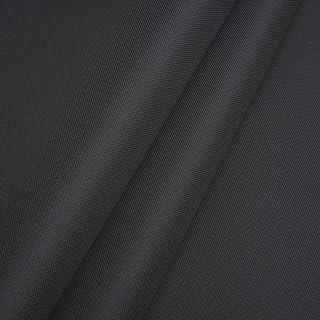 Polyester Oxford 600D 1lfm - Wasserdicht, Outdoor Stoff, Segeltuch, Abdeckplane Dunkelgrau