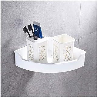 Étagère d'angle Douche Montage mural d'angle Caddies étagère douche forage SUS304 acier inoxydable salle de bains étagère ...