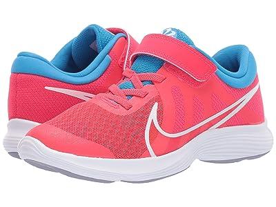 Nike Kids Revolution 4 Disrupt (Little Kid) (Red Orbit/White/Blue Hero/Indigo Haze) Kids Shoes