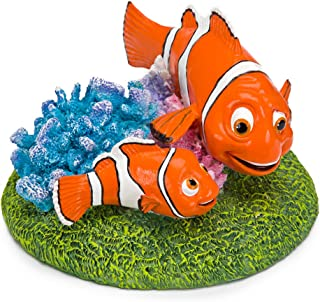 Penn Plax Finding Nemo and Marlin 6 in. Aquarium Ornament