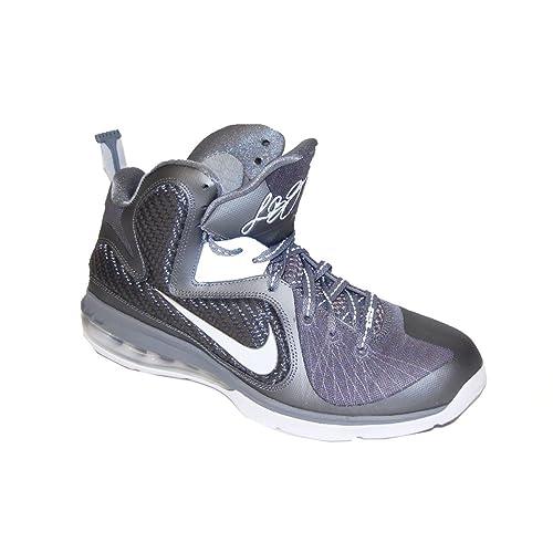 meet 6a39a 67da5 NIKE Men s Lebron 9 469764 007 Cool Grey White Metallic Silver Basketball