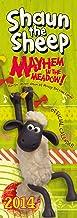 Official Shaun the Sheep 2014 Slim Calendar (Calendar 2014)