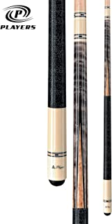Players C-9921 Classic Smoke-Stained Birds-Eye Maple with Inlay Points and Cream Butt Cue